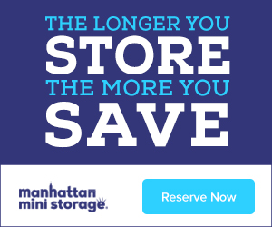 Manhattan Mini Storage Ad